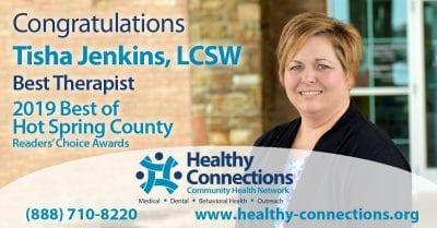Jenkins Named HSC's Best Therapist