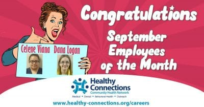 Viana, Logan September Employees of Month