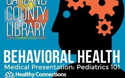 Pediatrics 101 Feb. 1 at Garland County Library