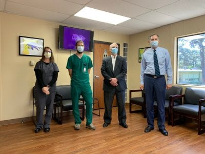 Rep. French Hill Visits LR Franklin Clinic