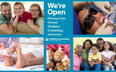 Open for In-Clinic, TeleHealth Appointments, Testing