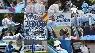 Healthy Connections Completes More Than 2,000 Free Covid-19 Tests at Pop-up Events
