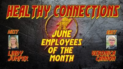 June Employees of the Month