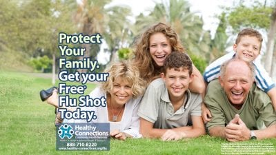Get Your Free* Flu Shot Today