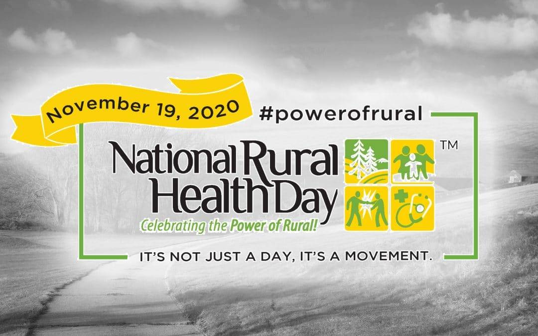 National Rural Health Day Nov. 19