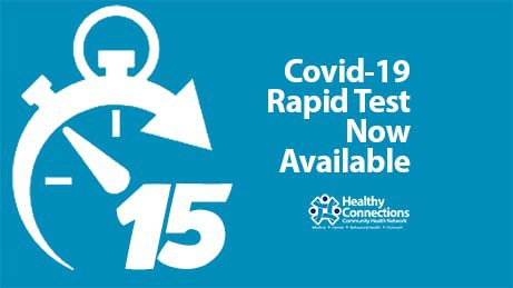 Covid-19 Rapid Test Now Available