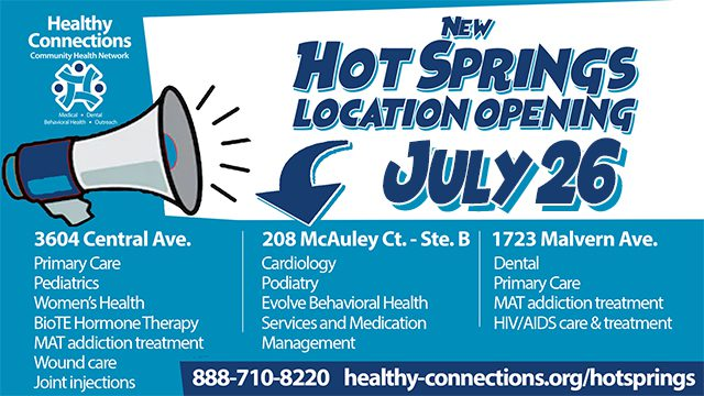 Third Clinic Now Open in Hot Springs