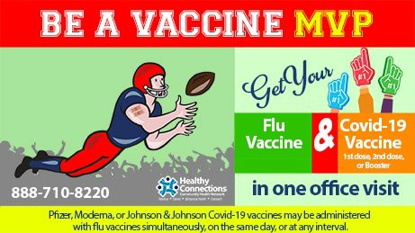 Covid-19 and Flu Vaccine on Same Day? Yes
