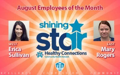 August Employees of the Month